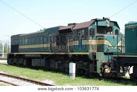 Old Slovenian Train