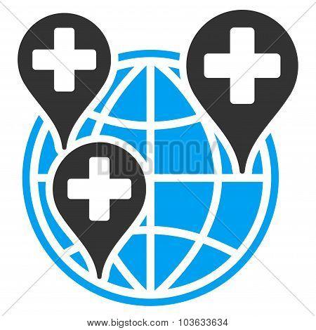 Global Clinic Company Icon