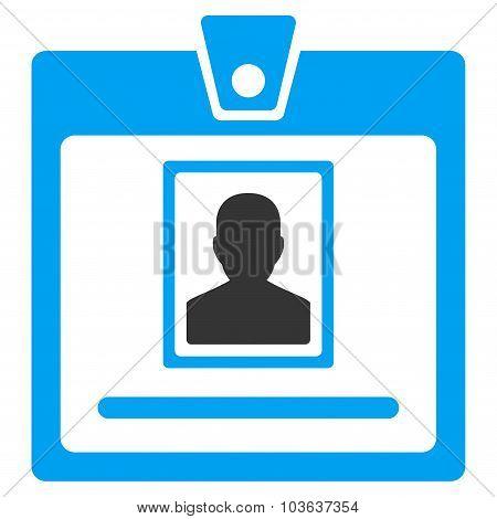 Person Badge Icon