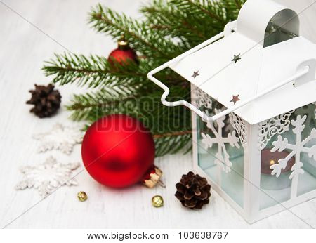 Christmas Decoration And Flashlight