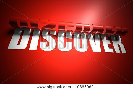 Discover Concept, Cut Out In Background