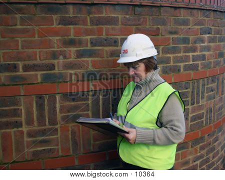 Female Construction Worker 2