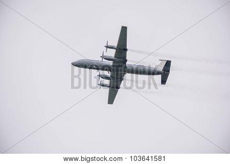 Retro Passenger Plane.