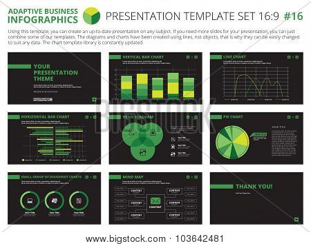 Presentation template set 16