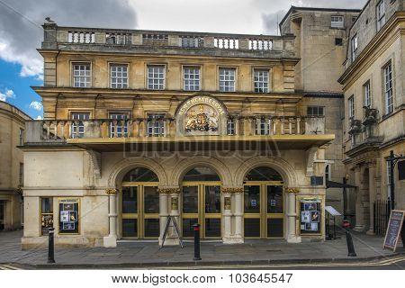 Theatre Royal In Bath, England