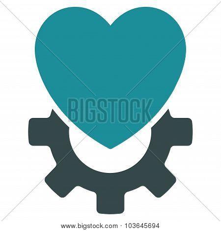 Mechanical Heart Icon