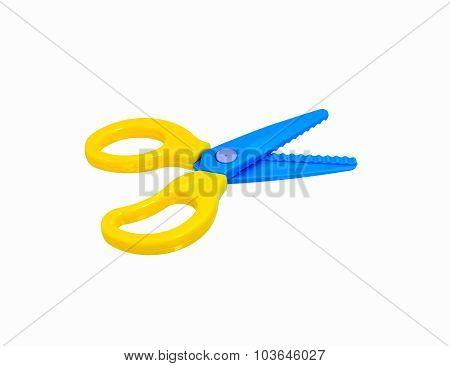 Zigzag Scissors For Cut Paper About Art