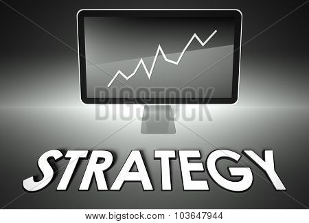 Screen And Graph With Strategy, Success