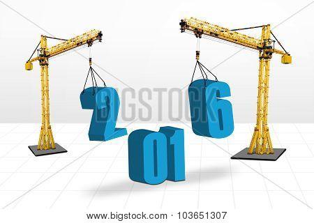 Cranes Arrange Numbers 2016