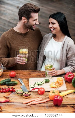 Young Couple Enjoying Healthy Lifestyle