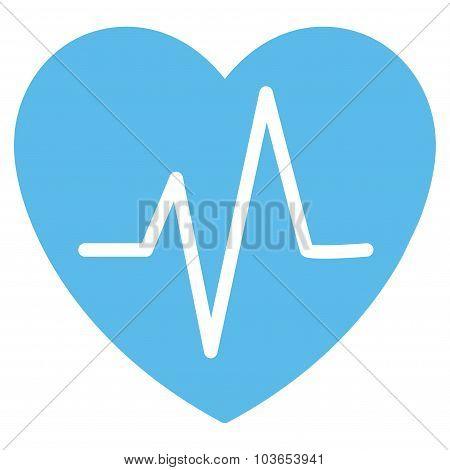 Heart Ekg Icon