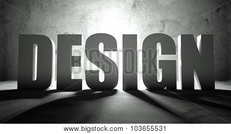 Design Word With Shadow, Background