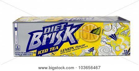 Brisk Iced Tea Carton.