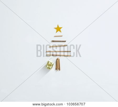 Beautiful Minimal Christmas Card