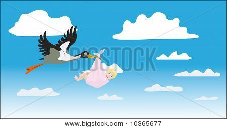 The Stork Bears The Girl