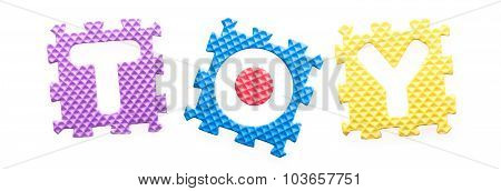 Colored Letters, Toy For Children