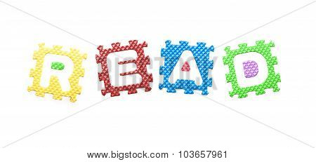 Colored Letters, Read For Children