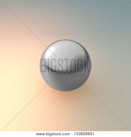 Metal Silver Ball