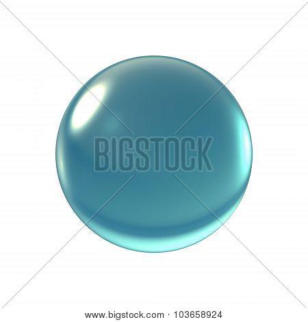 Crystal Blue  Ball