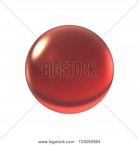 Crystal Red Ball