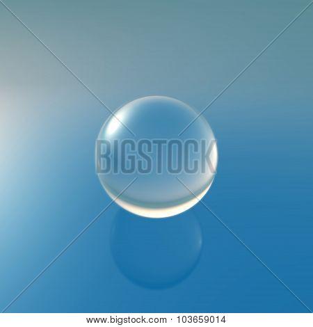 Glass Transpancy Ball