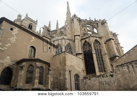 Narbonne (france), Gothic Cathedral