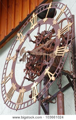 clock clockwork outdoor