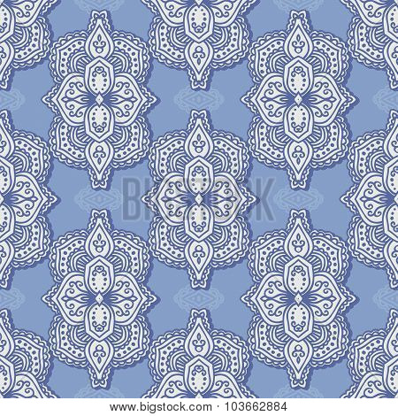 Vector paisley seamless pattern.