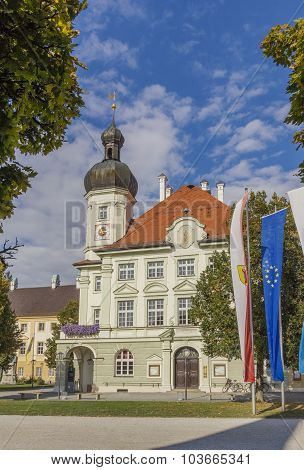 Townhall In Altotting, Bavaria, Germany