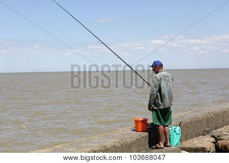 Fisherman On The Waterfront
