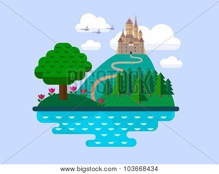 Vector Natural Landscapes