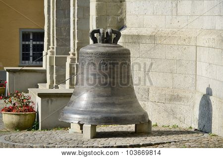 Old Church Bell, The Town Of Lindau