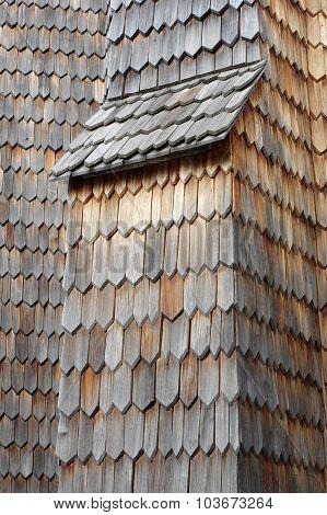 wooden shingle