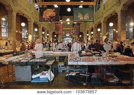 Fish Market Rijeka