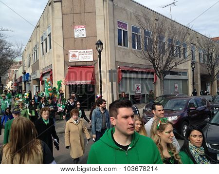 The 17th annual St. Patricks Day Parade in White Plains, NY