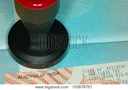 australian visa and stamping tool