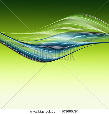 Abstract Elegant Eco Background Design With Space For Your Text