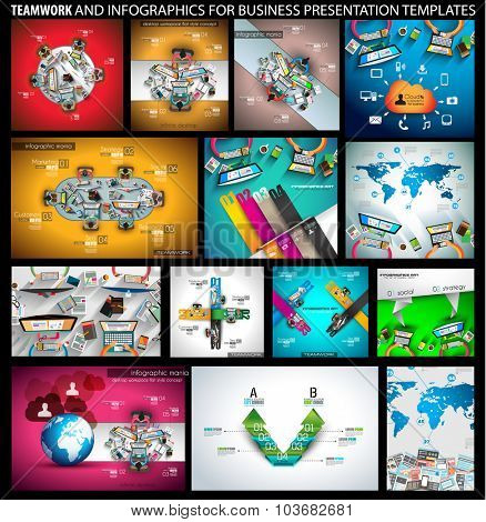 Big SET of Flat Style Design Concepts for business strategy and career. Ideal for corporate brochures, flyers, digital marketing, product or idea presentations, web banners and so on .
