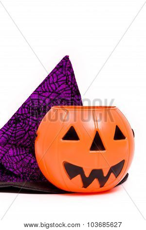 Halloween Costume On White / Halloween Costume / Halloween Costume Isolated On White Background