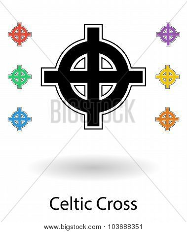 Celtic Cross Vector Set