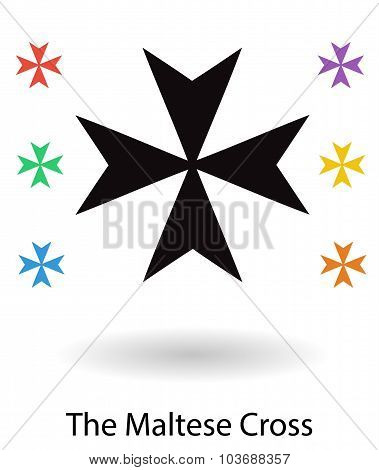 Maltese Cross Of The Knights Of Malta (hospitaller)