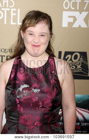 LOS ANGELES - OCT 3:  Jamie Brewer at the