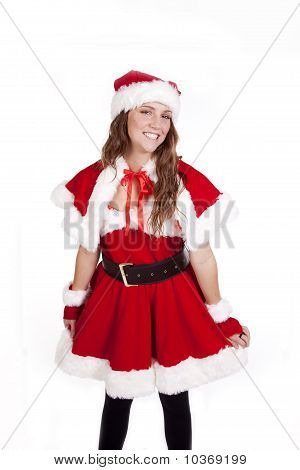 Mrs Santa Holding Skirt