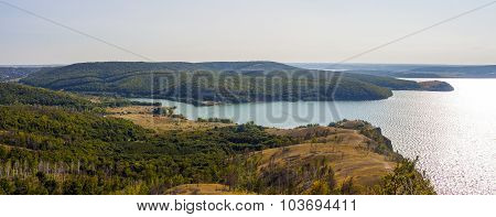 View Of The Volga River