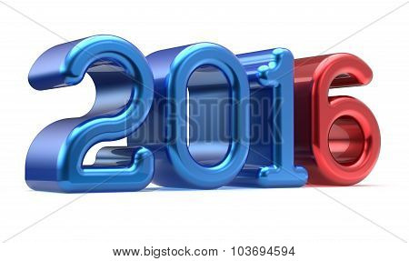2016 New Years Eve Wintertime Banner Decoration Number