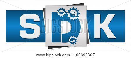 SDK Blue Grey Three Blocks