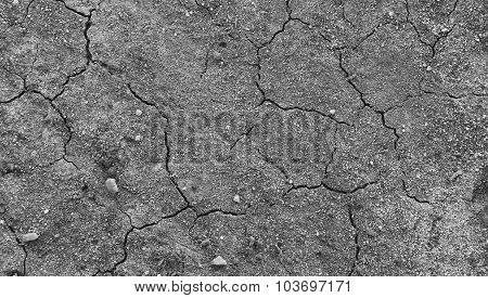 Cracked Soil Dry Earth Texture,background