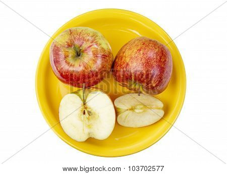 Apples On A Platter