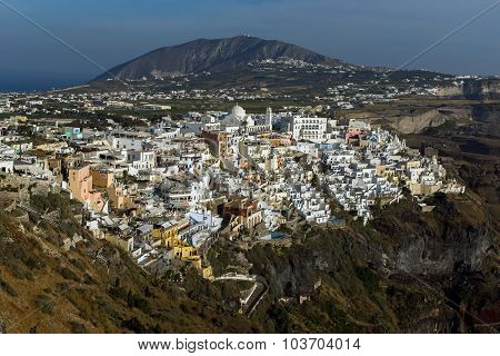 Town of Fira, Santorini, Thira