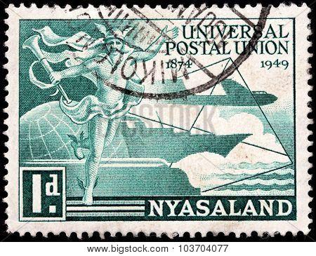 Mercury Stamp